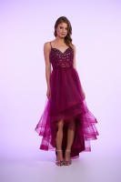 GLOWING HIGH LOW DRESS