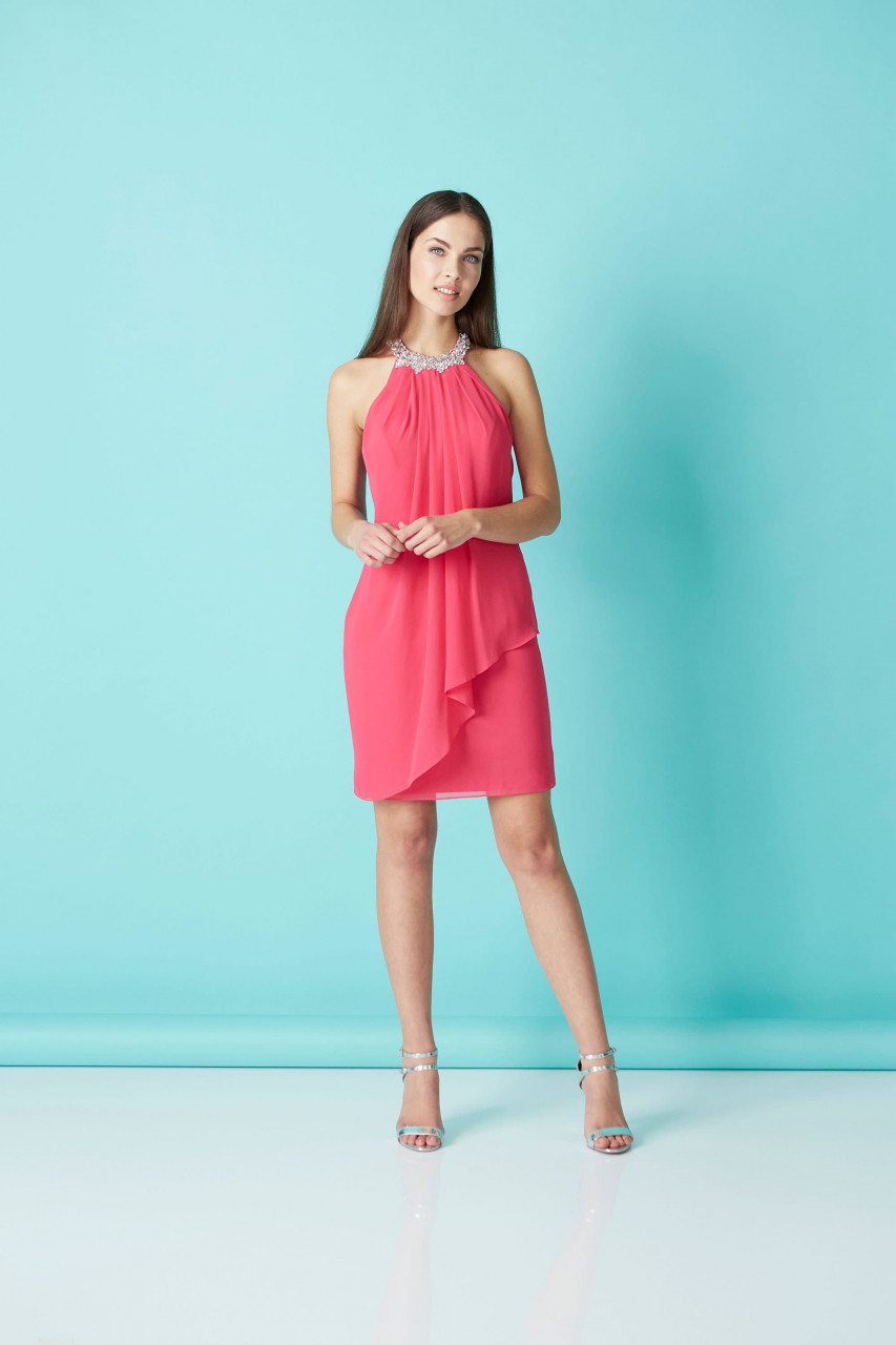 Sophisticated Flounce Dress