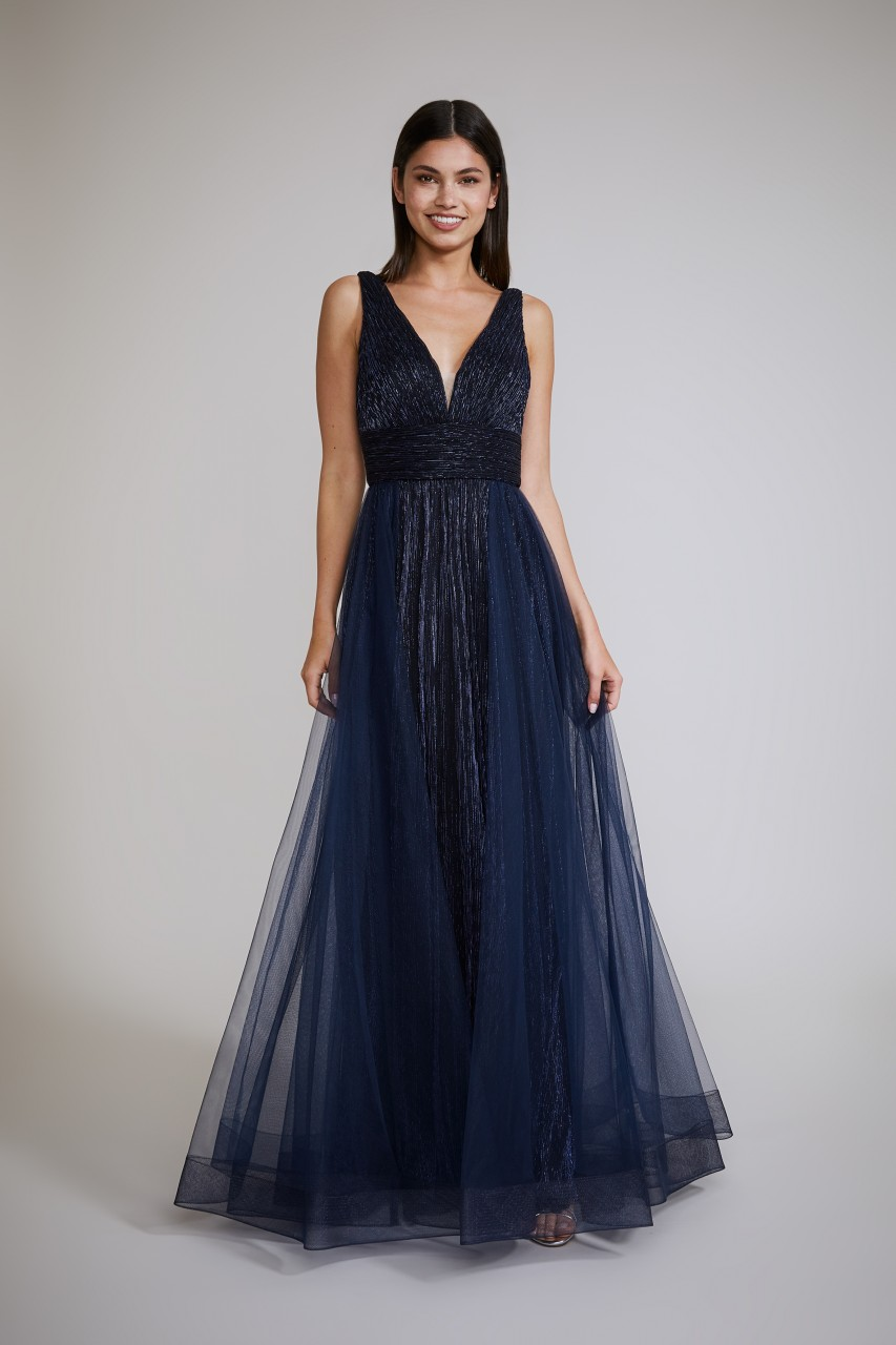 BLUE SHADOW DRESS