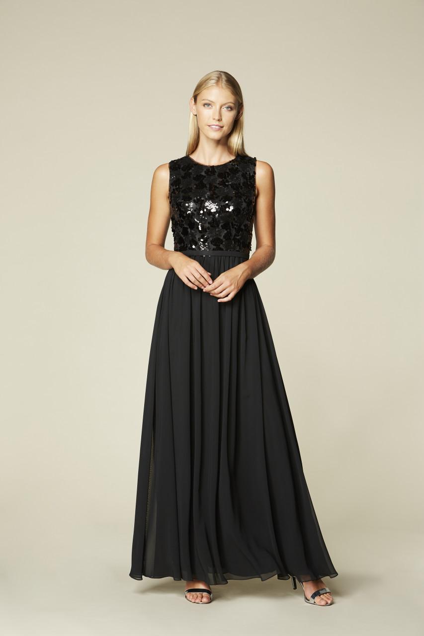 BLACK SPARKLE DRESS
