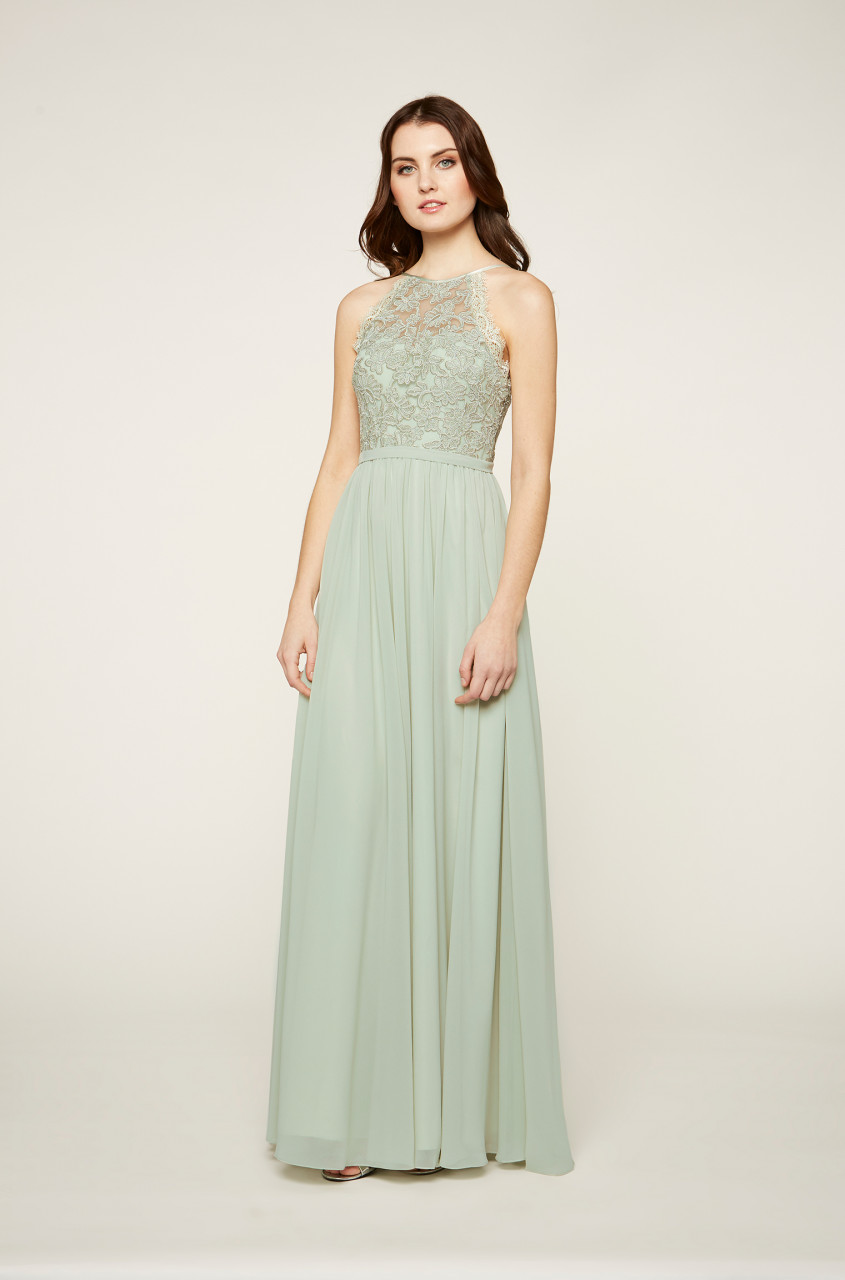 Pixie Chiffon Maxi Dress