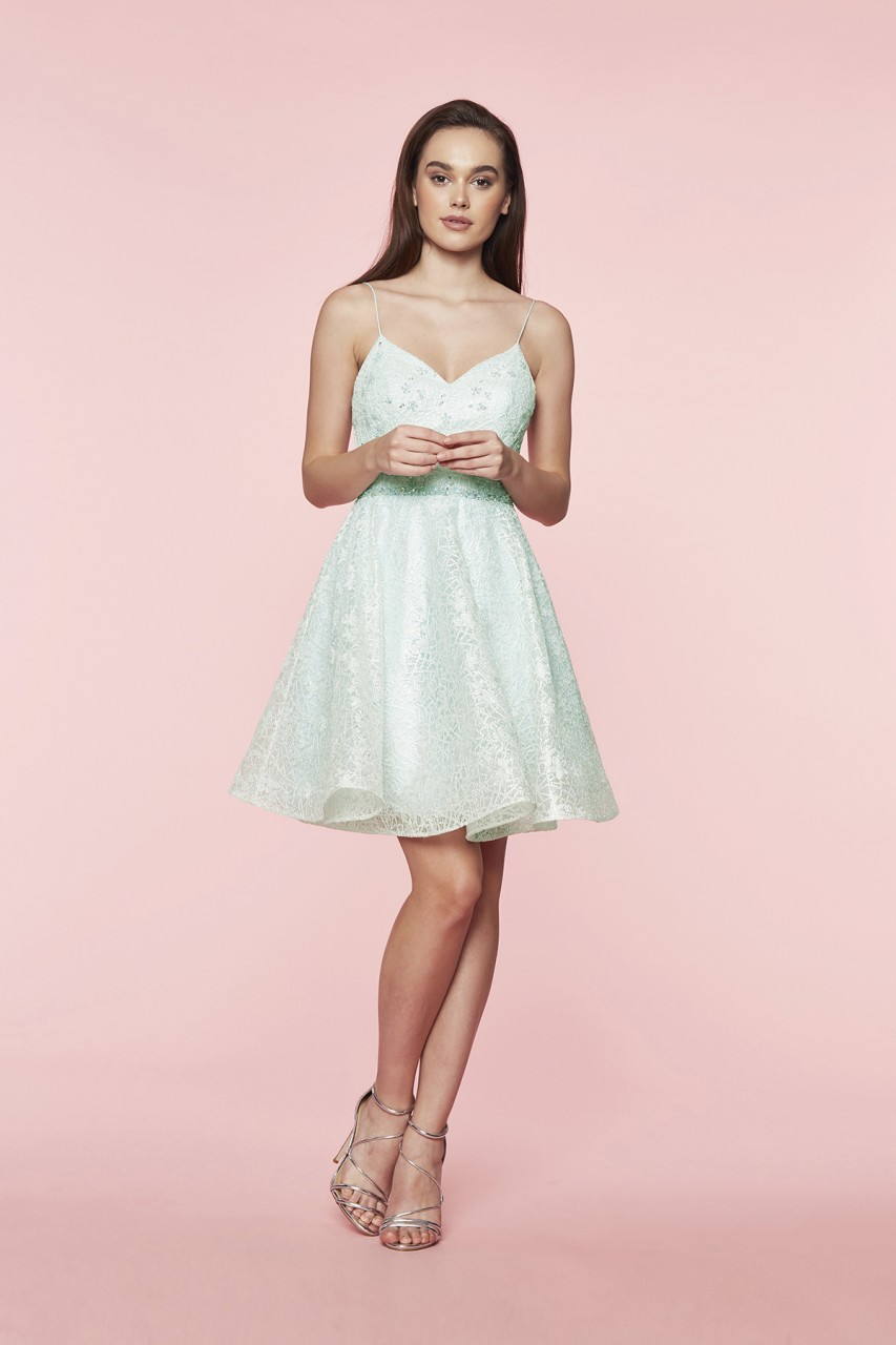 JADE MINT TWINKLE DRESS
