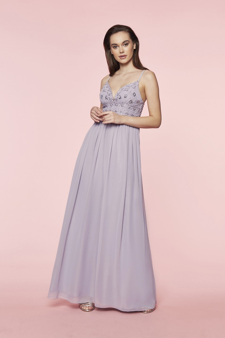 CHARMING CHIFFON DRESS