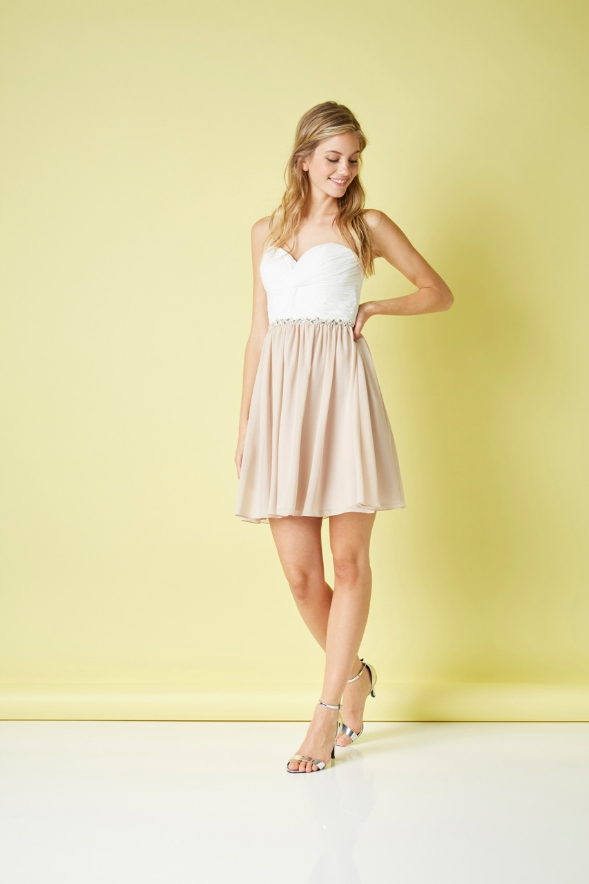 Pretty little Two Tone Dress