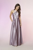 GOOD VIBES SATIN GOWN
