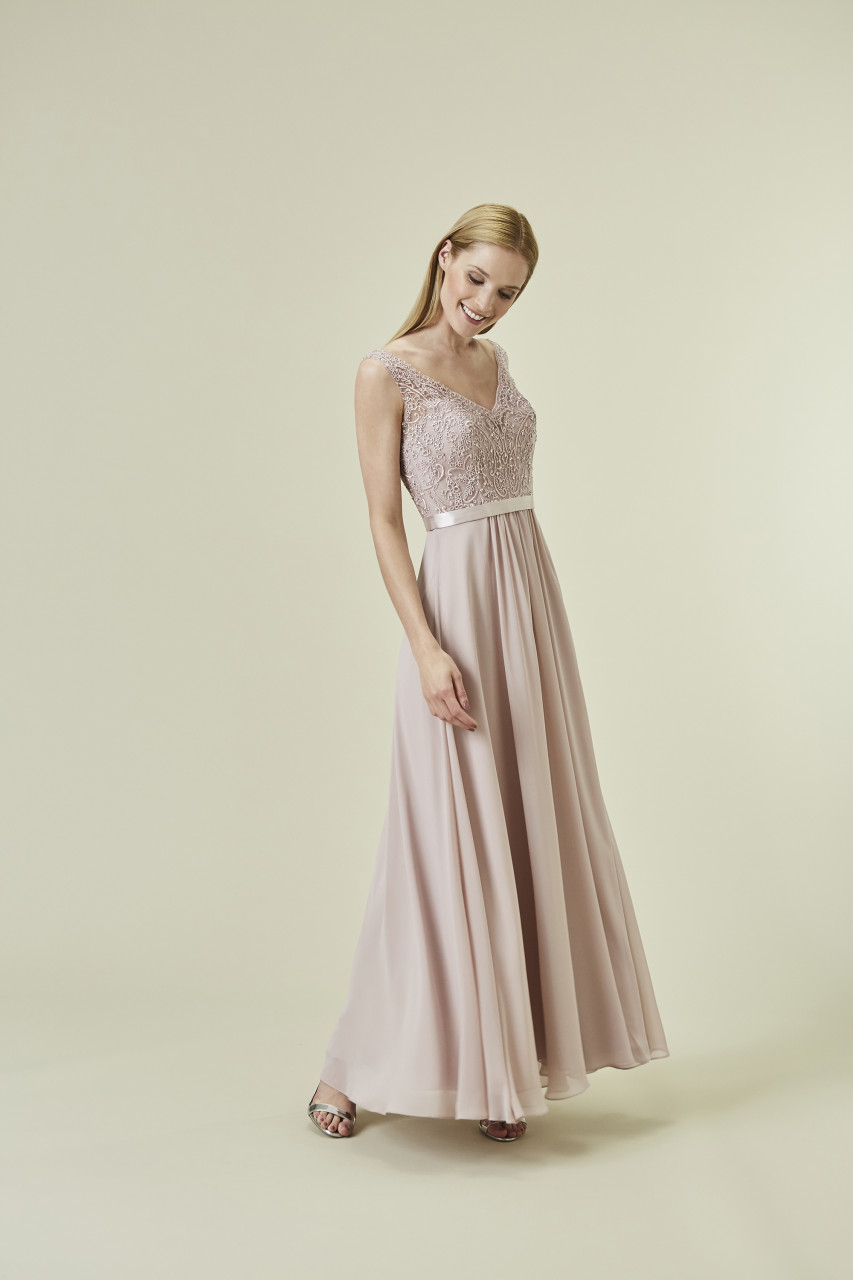 FLORAL GLAM DRESS